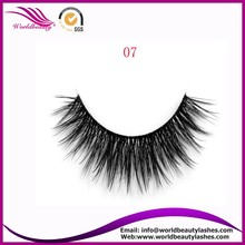 long and thick 3D synthetic false eyelash pack luxury packaging synthetic mink lashes