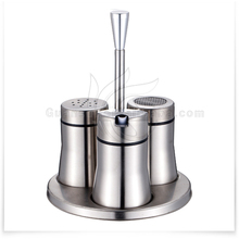 Best Seller stainless steel salt and pepper dispenser/salt dispenser