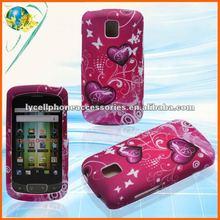 For LG Optimus One P500/Optimus T P509 Heart Designer Mobile Phone Accessory