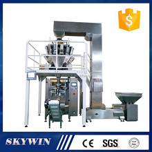 Automatic wheat flour packing machine for hot seal paper bag