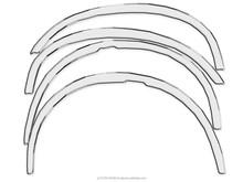 Wheel arches , fender trim , fender flares for Jaguar XJ III 1979-1992