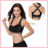 wholesale cheap fitness sports bra ladies sexy girls bra and panty girl photo