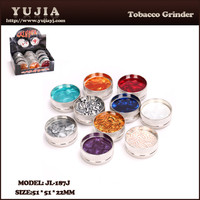 Currents Other Healthcare Supply Smoking Accessories Metal Tobacco Herb Grinder wholesale JL-187J