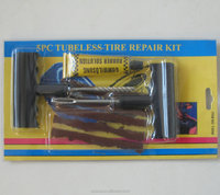 high quality car tire repair tools sets with glue and seal string