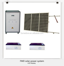 2015 new solar home power system 500W with A grade mono slar panel and gel battery