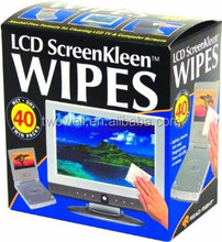 alcohol free LCD wet wipes wet&dry twin pack