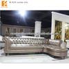 Foshan furniture factory classic leather sofa (NL-H125)