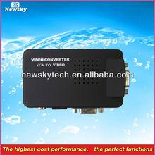 High Cost Performance vga to av s-video tv converter switch box