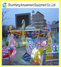 12 persons park game machine ocean walking with LED light