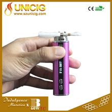 Unicig latest smoking device 60W vape electronic cigarette Mutation X Ni200 temperature control vaporizers mod