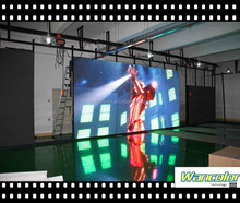 2015 NEWly p5 black lamp rental LED display Indoor p5 SMD2121 full color rental LED video display with good showing effect