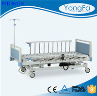 auto-assembly packing line Safety full siderail anti rust electric care bed for children