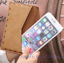 Fashion Vintage Phone Cases Ultra Thin Envelope Mail Bag Pouch Bag For APPLE iPhone6/6plus Business Anti Water Phone Bags