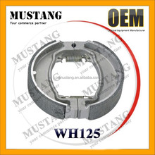 WH125 Cheap High Quality New Motorcycle Brake Shoes for Sale