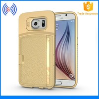 Hot Selling New Arrival Products for Galaxy S6 Luxury Leather Case