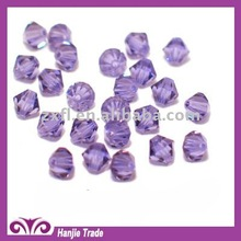 Bulk Crystal Faceted Bicone Beads 5301 Light Amethyst