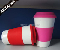 Promotional 16oz porcelain starbucks double walled mug