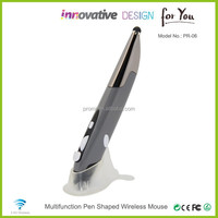 Portable Design With Slim Capacity Touch Screen Pen Mouse for PC Tablet Blue PR-06