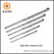DANYANG High Helix concrete Drill Bit,Milled,Chrome Plated