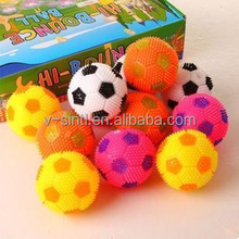 Hot sale factory direct sale night play light up football/ with sound Soccer Balls