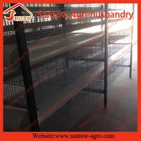 High quality best sell galvanized metal quail cages