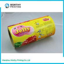 HDPE/LDPE/LLDPE plastic film on roll