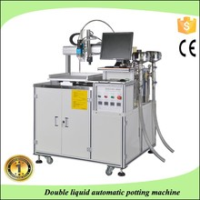 3 dimensions automatic glue mixture and dispensing robot