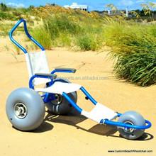 beach carts with balloon wheels
