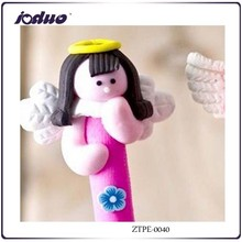 2015 Don't Repeat Cheaper Lovely Color Office Gift Best Model Polymer Clay Cartoon Ballpoint Pen