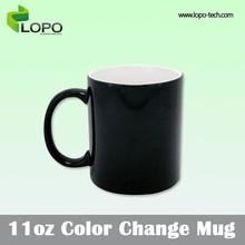 Customized 11oz Sublimation Coated Color change mug