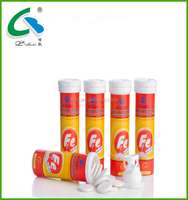 Dietary Food Supplement Iron Supplement Effervescent Tablets GMP Manufacturer