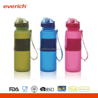 Innovative Style Collapsible Water Bottle, Silicone Drink Bottle, Folding Water Bottle