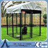 2014 new design unique iron fence cheap chain link dog kennel