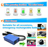 Portable Rechargeable battery 12V 9800mah DC Emergency Lithium ion Battery for Led Lights