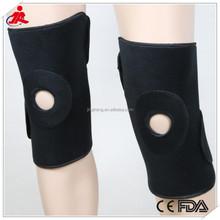 FDA CE New Product Adjustable velcro elastic sports Knee Brace Neoprene Open Patella knee Support