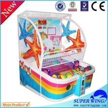 Superwing black simulator basketball arcade machine