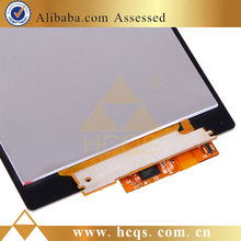 brand cell phones for Sony xperia z1 broken lcd replacement, cracked for Sony xperia z1 screen