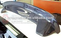 CARBON FIBER MAZDA 04-09 MAZDA3 M3 3 HATCHBACK 5DR REAR WING HATCH ROOF SPOILER (Brand new, no MOQ, In stock, Free shipping)