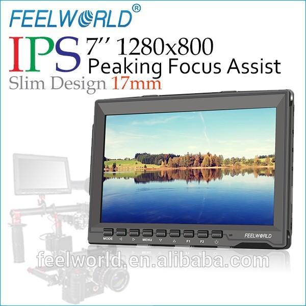 2015 nóng bán 7 inch máy tính xách tay màn hình độ dày 17mm ip 1280x800 độ phân giải đạt đỉnh tập trung hỗ trợ