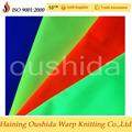 en471 fluorescentes tricot tela para una vasta seguro