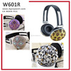 Best quality excellent sound jewelry headphone supplier and factory