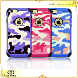 Colorful Fashionable Camouflage Pattern leather case cover for Apple iPhone 6