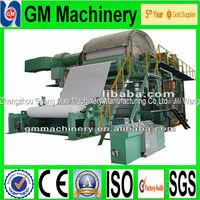 Zhengzhou guangmao Most popular products on the market bamboo toilet paper making machine,machine for producing toilet paper
