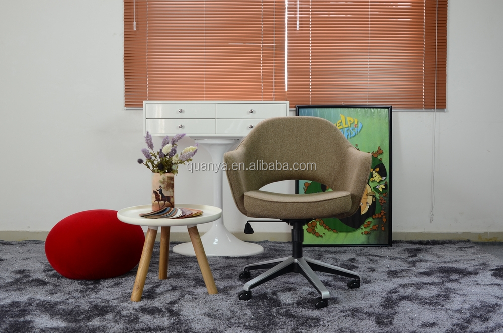 modern round sit living room chairs with wheels