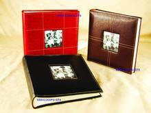 Handmade Faux leather photo book album_wedding album maker_photo album wholesale