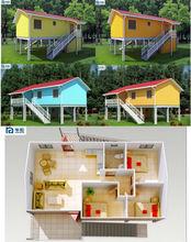 SUPER LOW Cost Prefab Garden House, Economical Mobile Wooden House