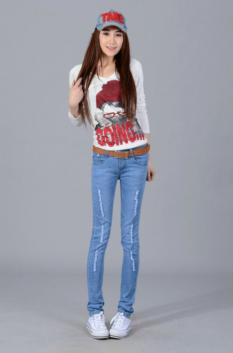 Worn Out Jeans For Women