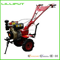 Hot Selling New Gear Driven Hand Operated 9Hp Chinese Tractor For Paddy Cultivation