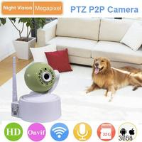 with audio platstic home security cctv ip wifi camera