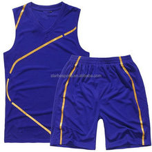 Top quality classical 2015 newest basketball uniform/wear